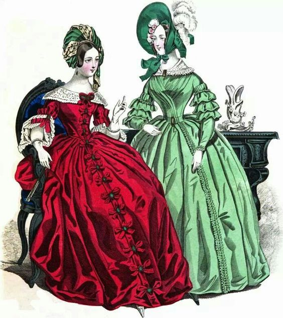 Le Bon ton fashion plate 1837: