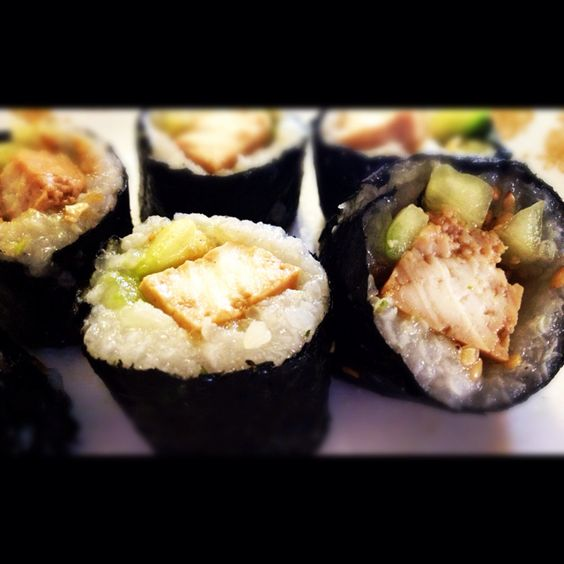 Tofu, cucumber, and avocado roll | What my taste buds crave ...