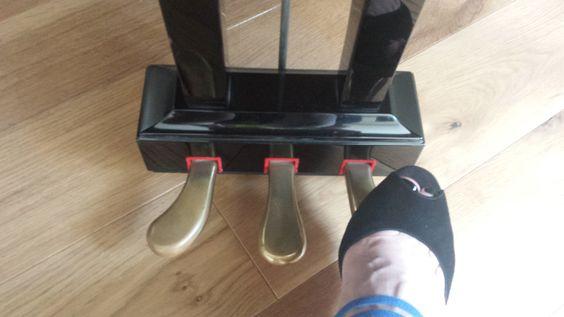 Description of various pedal techniques for separated ...