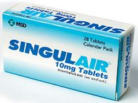 Singulair is used to prevent asthma attacks and the long term treatment of asthma in adults and children above 12 months of age.