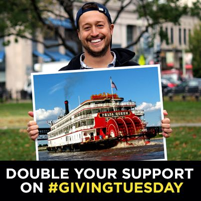 It's #GivingTuesday and all donations to the National Trust are being matched dollar-for-dollar (up to $100k)! Click through the photo to give. Thank you!
