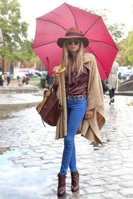 Flare.com - Street Style: Paris Fashion Week Spring 2013 - Street Style: Paris Fashion... - Flare.com