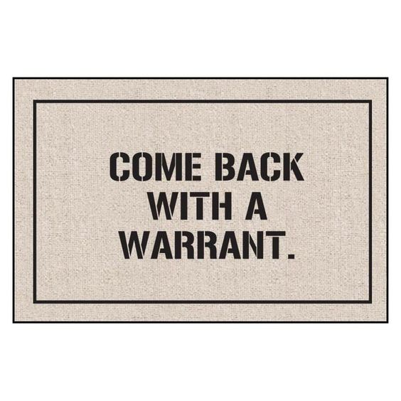 Come Back Indoor/Outdoor Doormat - Please note this product does not ship to Pennsylvania.