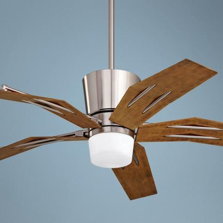 """52"""" Emerson Origami Brushed Steel Ceiling Fan - $549.91"""