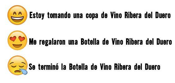 Tres Estados de Ánimo, muy propios en los #Winelovers ¡#FelizViernes! A disfrutar...