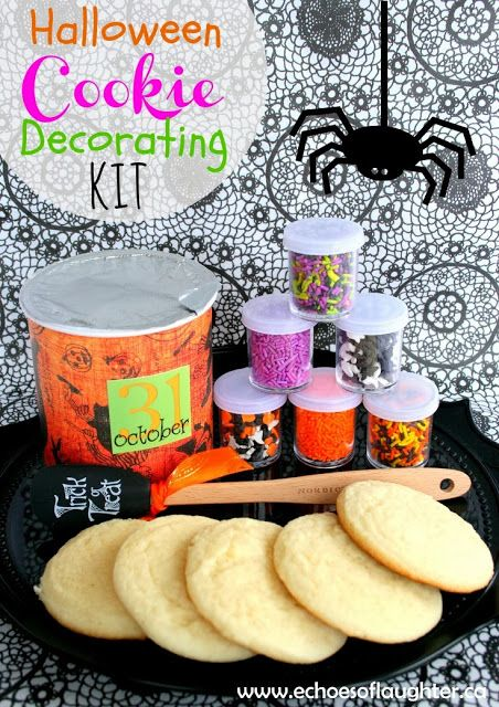 halloween cookie decorating kit make a kit for kids to decorate