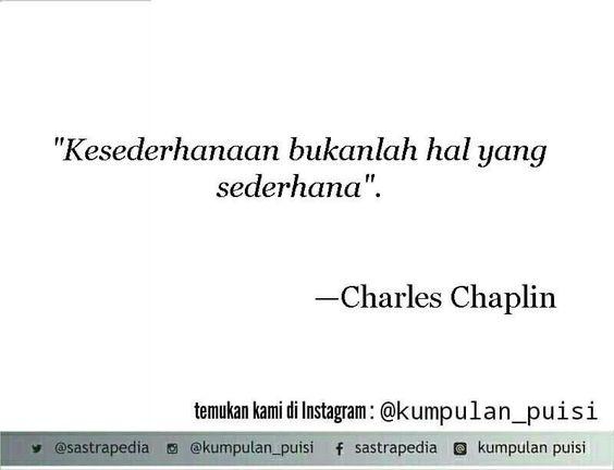 Puisi Pendek Kumpulan Puisi Charles Chaplin Kutipan