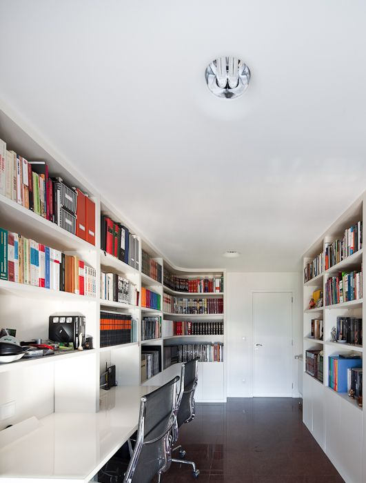 Apartamento JSJ / Filipe Melo Oliveira #homeoffice