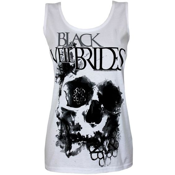 Chapter 12 2 YEARS LATER ($20) ❤ liked on Polyvore featuring tops, shirts, black veil brides, bvb, tank tops, black shirt, black tank, black singlet, bridal tank tops e shirts & tops