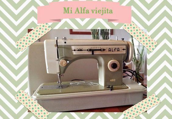 Alfa+482 maquina coser sewing machine
