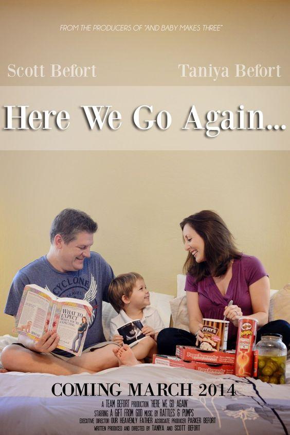 Movie poster pregnancy announcement Baby Pinterest – Fun Birth Announcement Ideas