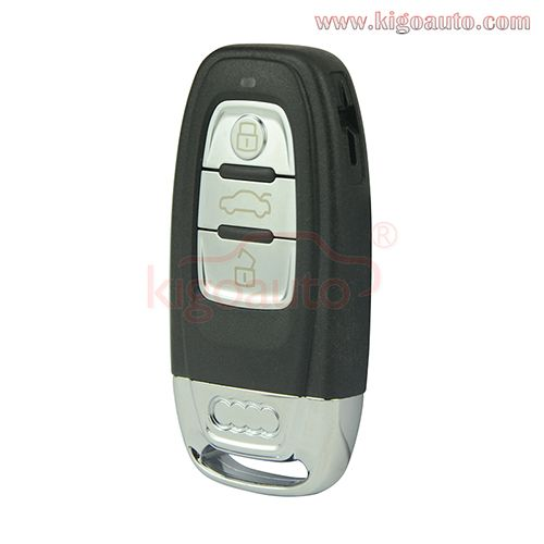 A3 A4 A6 A5 A8 Q5 Q7 8t0959754c Car Key 3button For Audi Smart Key Fob Remote Smart Key Audi Car