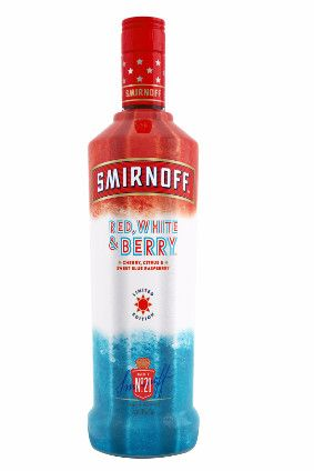 "Diageo has followed in Anheuser-Busch InBev's footsteps with the launch of the ""patriotic"" Smirnoff Red, White & Berry vodka in the US."