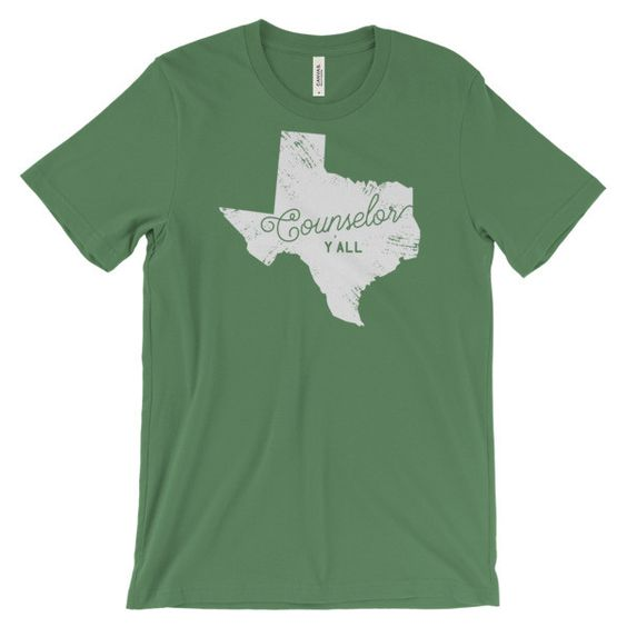 Texas Counselor Y'all Short Sleeve T-shirt
