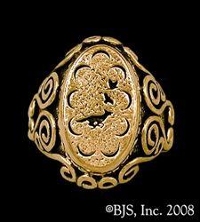 14k. gold Mat Cauthon's Signet Ring