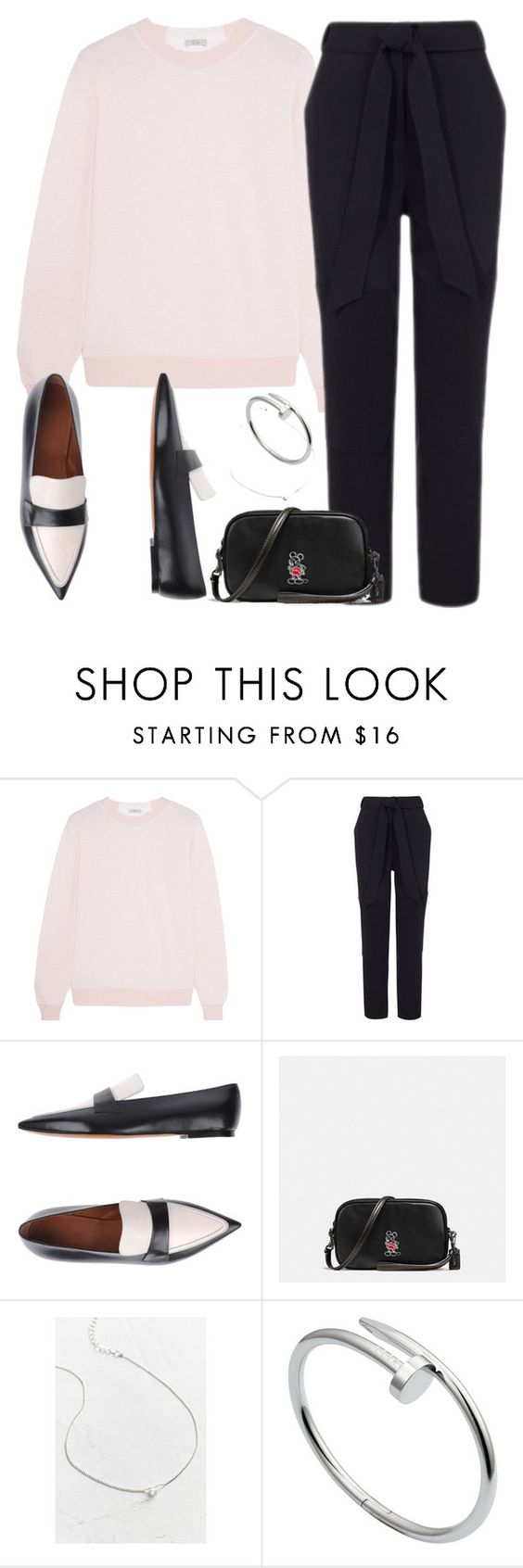 """""""Untitled #2511"""" by briarachele on Polyvore featuring Clu, CÉLINE, Coach, Urban Outfitters and Cartier"""