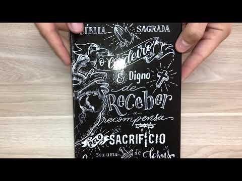 Biblia Lettering Naa Jesus Copy Capa Dura Biblia Para Jovens Biblia Familias Cristas