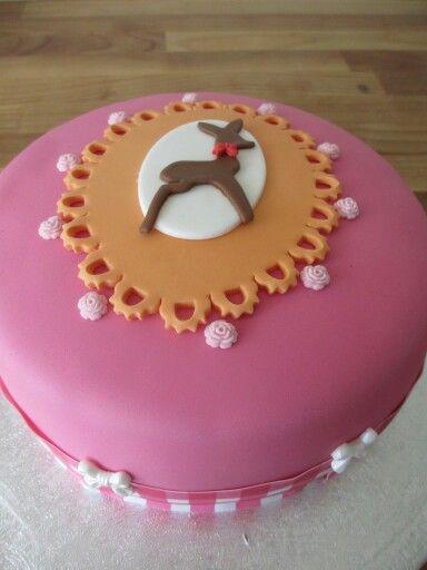 Vintage taart voor mijn 50ste verjaardag