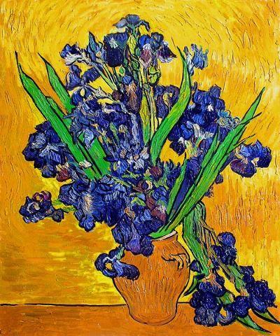 Lovely lovely lovely vincent van gogh still life for Van gogh irises