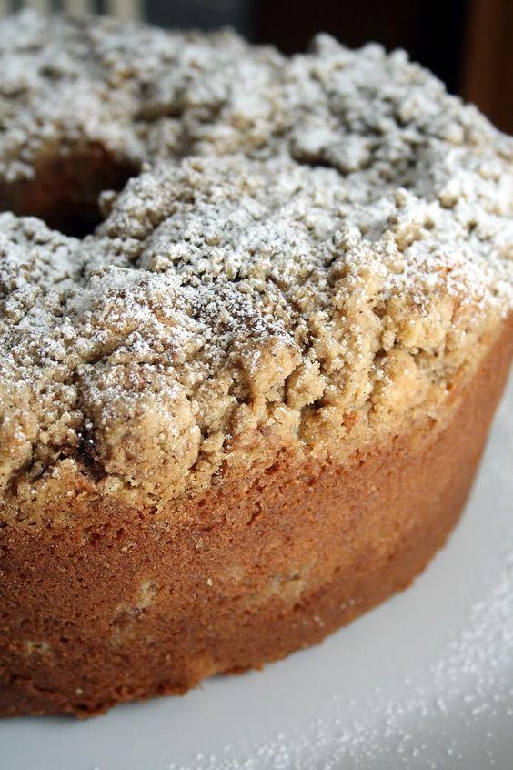 Corner Bakery Cinnamon Creme Coffee Cake