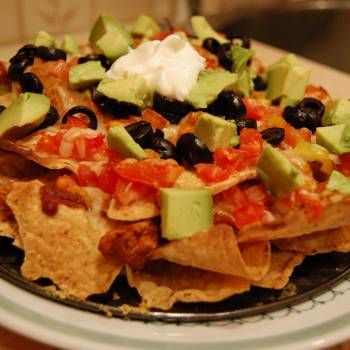 Beef Nachos - El Chico Copycat: Cafe Recipes, Appetizer Recipes, Thefoodchannel Recipes, Yummy Food, Mexican Food, Recipes Appetizers, Delicious Nachos, Nachos Thefoodchannel, Nachos El