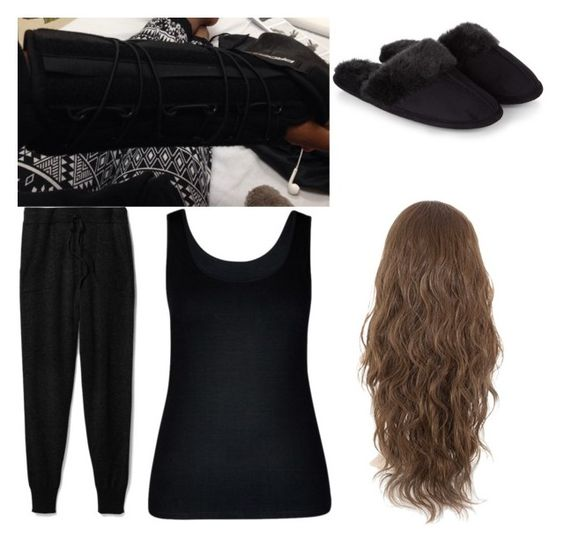 """At the hospital for sprained wrist"" by redrowan ❤ liked on Polyvore featuring Theory, City Chic and Accessorize"