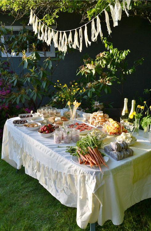 backyard picnic. #Hobbit #Middle-earth: