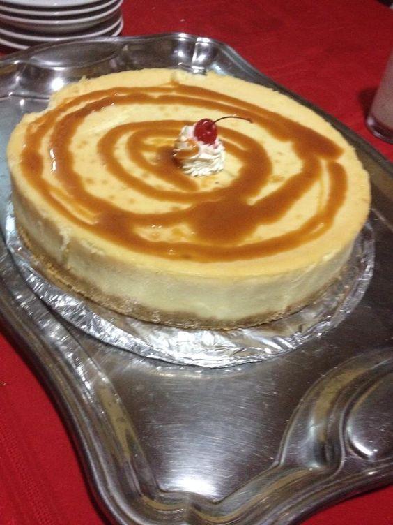 El mejor pastel de queso es de la casa del café.