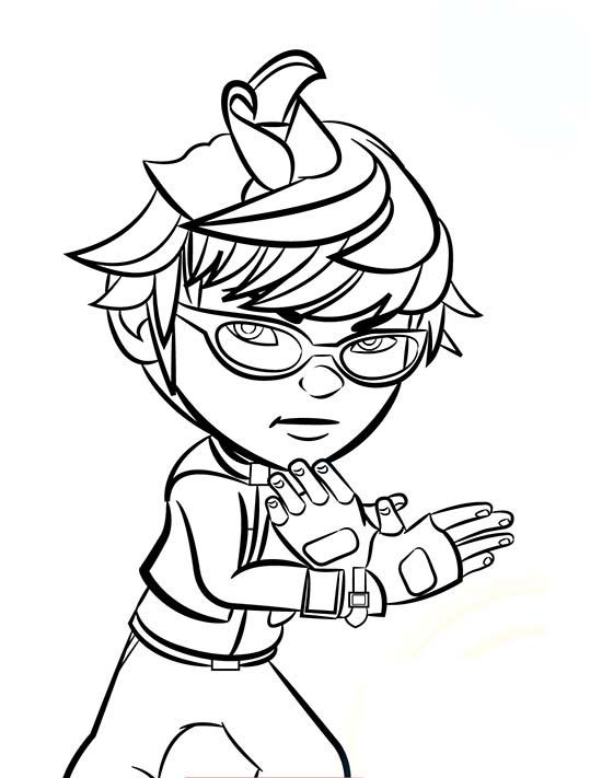 Printable Boboiboy Coloring Pages Cartoon Coloring Pages