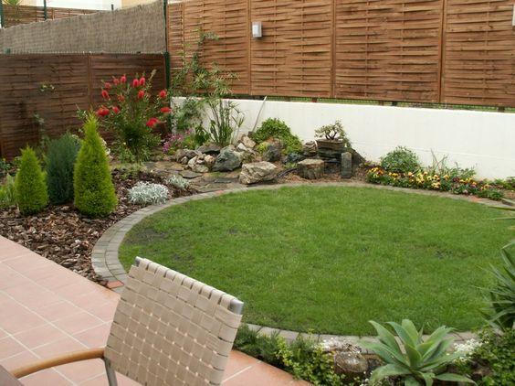 Jardines peque os con piedras inspiraci n de dise o de for Patio con jardin pequeno