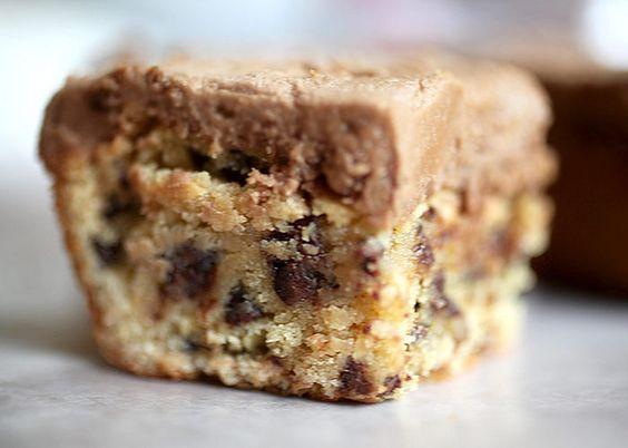 Peanut butter brownies <3