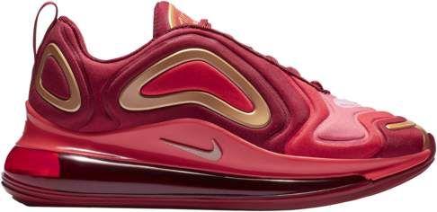 Hormiga Oso A gran escala  Boys Nike Air Max 720 - Grade School - Team Crimson/Met Red Bronze/Gym Red  #sponsored #ad #paid Thank you Foot Locker for sp… | Boys nike, Red bronze, Nike  air max