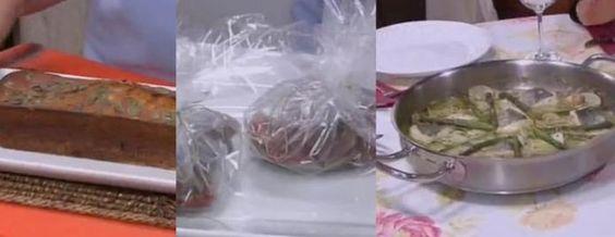 Biscoito de cabaza / Nécoras ao forno / Pescada en salsa verde   CRTVG
