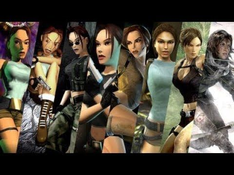 Evouloution History Of Tomb Raider Games 1996 2019 Lara Croft
