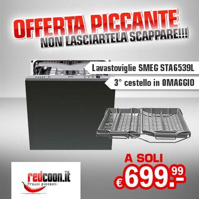 Super Offerta! Lavastoviglie SMEG + 3° cestello in OMAGGIO! http ...