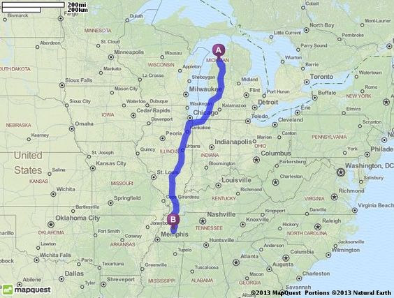 Driving Directions From Traverse City Michigan To Jackson - Mapquest portugal