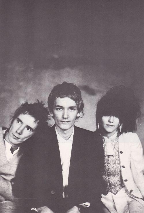 Pil 1981 John Lydon Keith Levene And Jeannette Lee