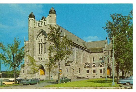 Église au Québec. Cathédrale St-Michel, Sherbrooke.