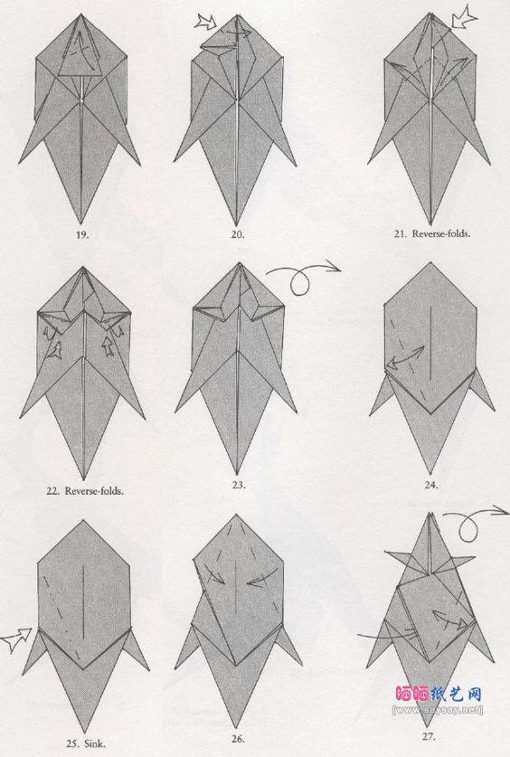 origami kangaroo 3 diy pinterest origami