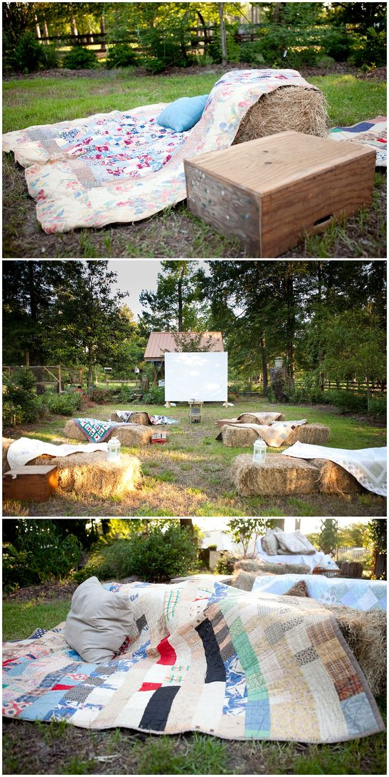 Outdoor Movie Party Charleston DownSouth Events