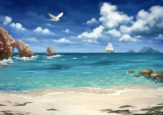 sea by sharandula.deviantart.com on @DeviantArt: