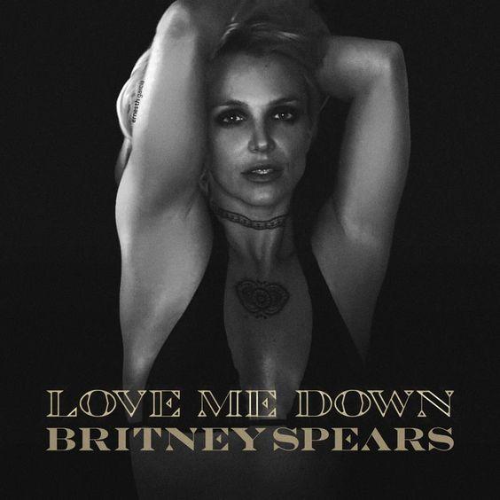 Britney Spears – Love Me Down (single cover art)