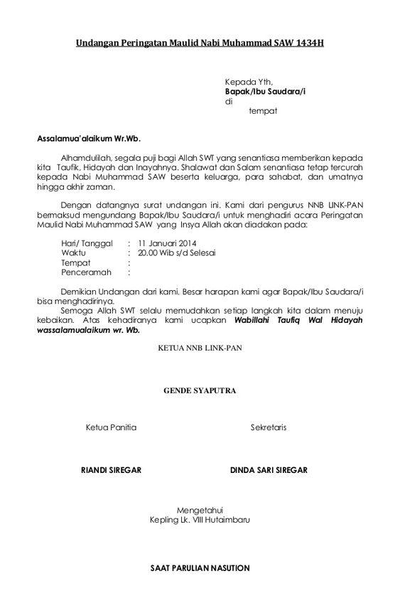 Contoh Surat Sp 1