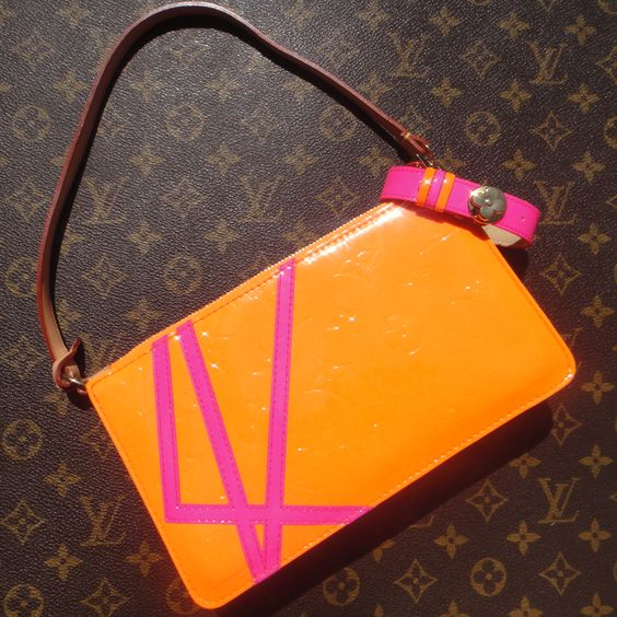 Louis Vuitton Robert Wilson Pochette Accessoire with matching bracelet :-)