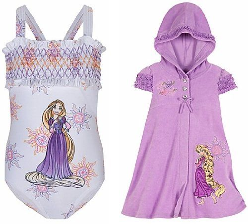 Disney Store Tangled Princess Rapunzel 2-Piece « Clothing Impulse