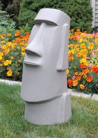 Elegant AMERICAN~MODERN MAN RAPA NUI EASTER ISLAND HEAD CONCRETE/CEMENT GARDEN  STATUE | Lawn And Garden | Pinterest | American Modern, Easter Island And  Garden ...