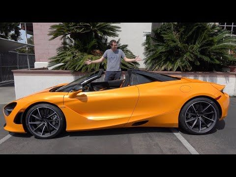 Here S Why The Mclaren 720s Spider Is The Best New Mclaren Youtube New Mclaren Mclaren New Bentley