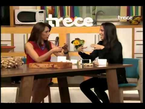 organizARTE en Ellas Arriba de TV Azteca - Tips para re-utilizar corchos