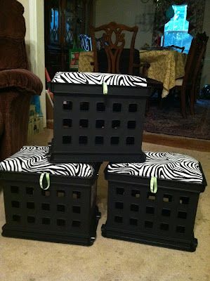 good tutorial on these storage seats ~ I need to make some of these for school