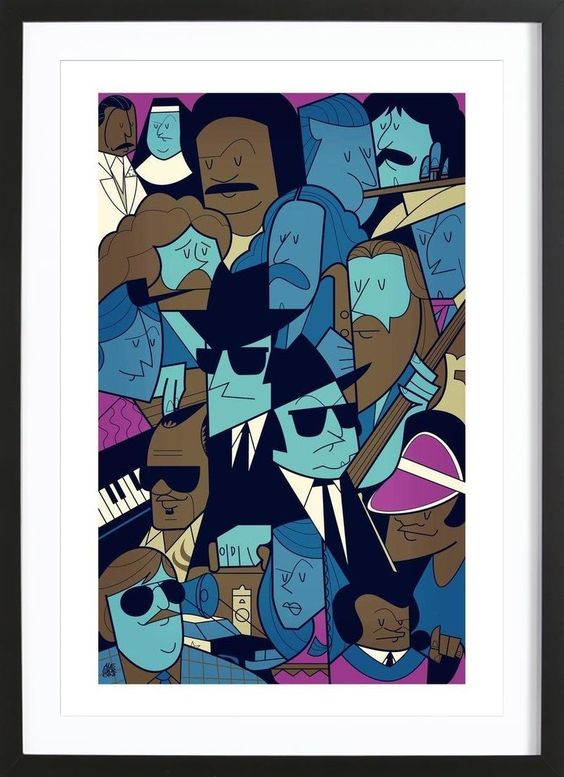 On a mission from God of Ale Giorgini now on JUNIQE!